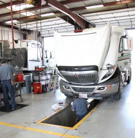 Great Plains Trucking Maintenance Shop